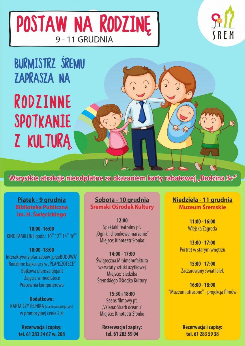Festyn Postaw na rodzinę - bezpłatne atrakcje dla Rodzin 3+