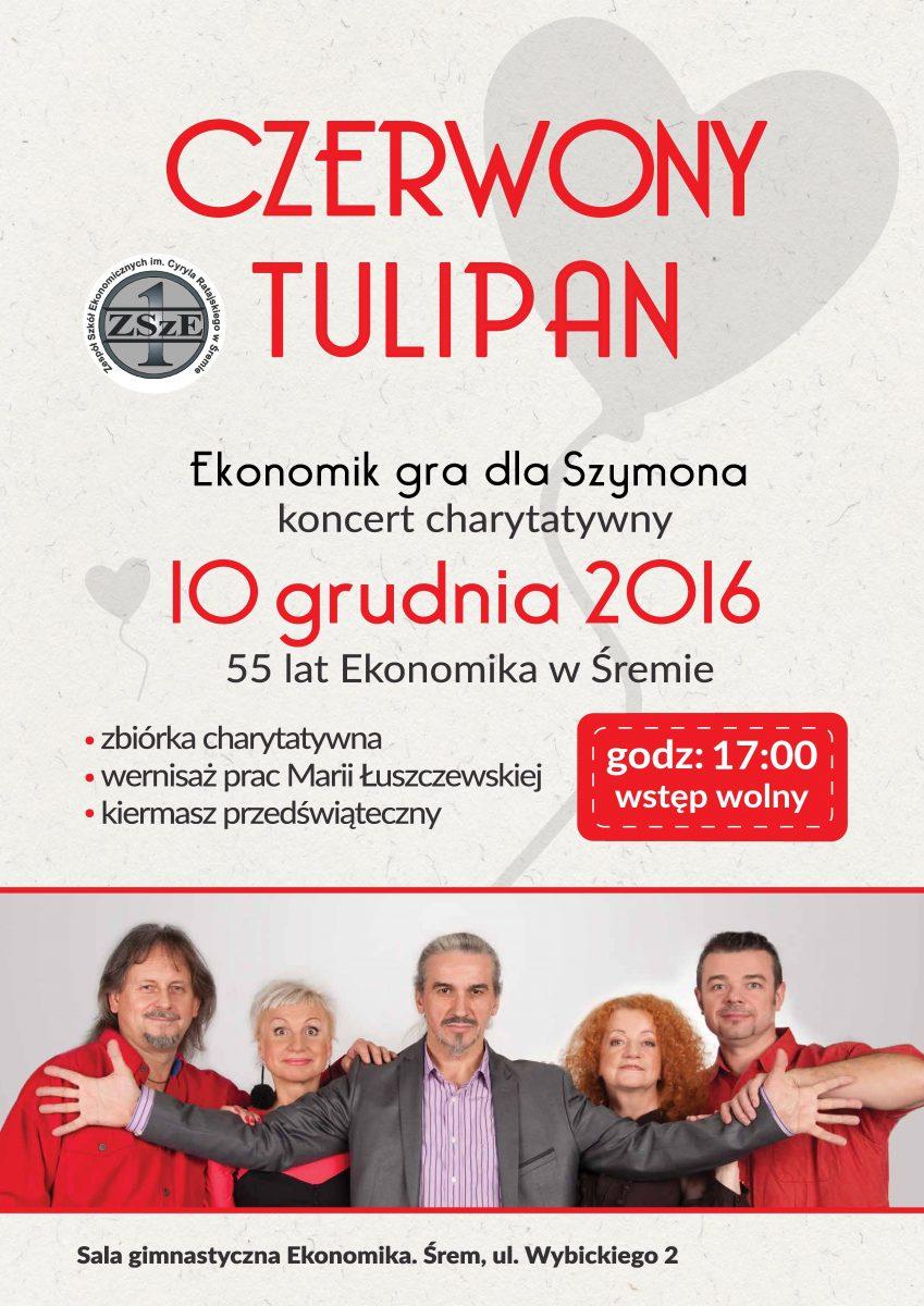 55 lat Ekonomika w Śremie i charytatywny koncert zespołu Czerwony Tulipan