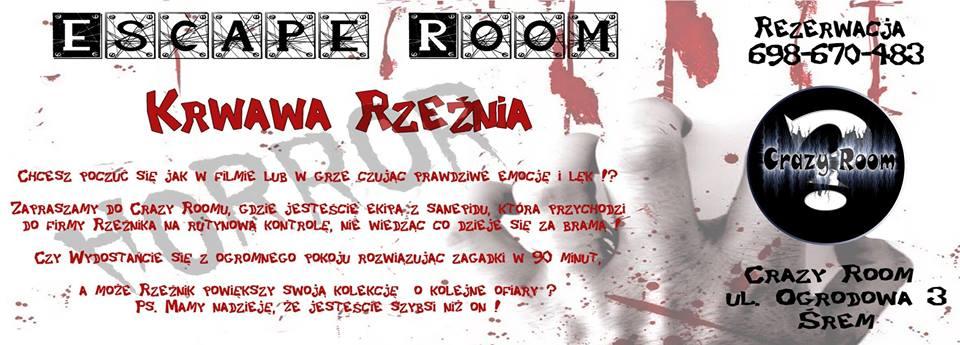 Escape room w Śremie: w styczniu otwarcie pierwszego pokoju