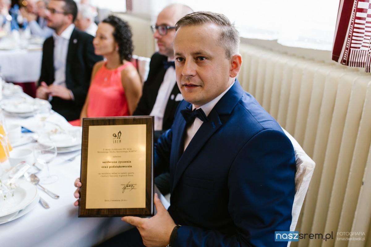 Dominik Sworowski, prezes Śremskiego Klubu Sportowego Warta