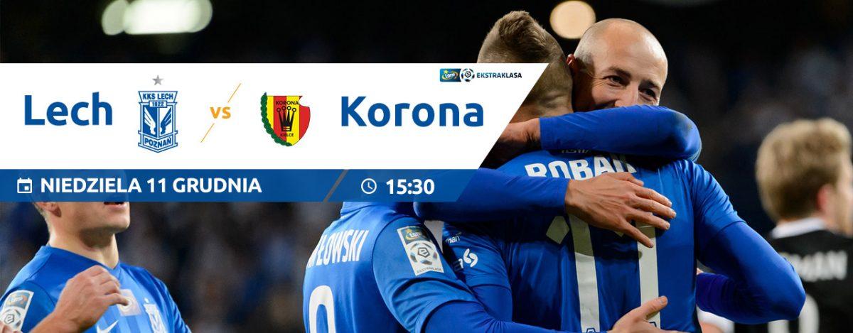 Lech Poznań - Korona Kielce:: grafika meczowa