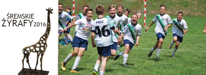 Klasa piłkarska z SP6 - Śremskie Żyrafy 2016