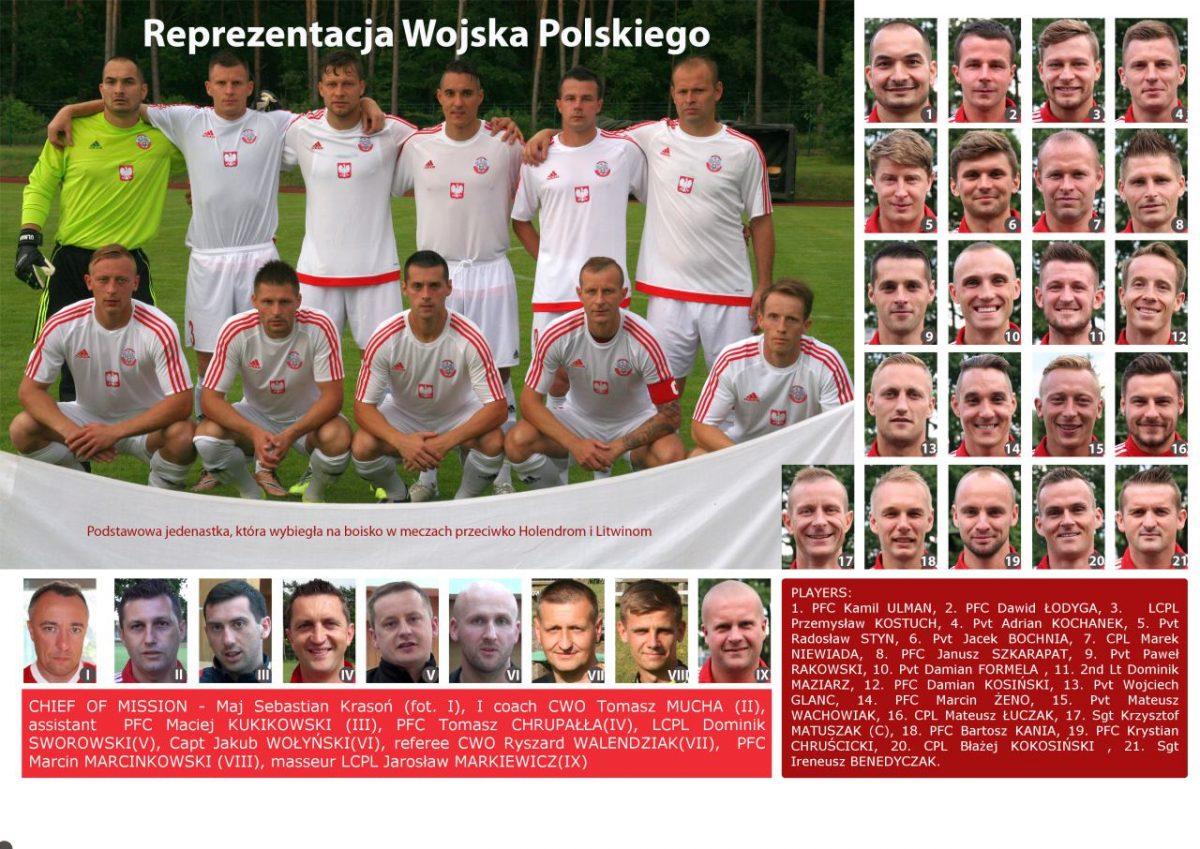 Piłkarska Reprezentacja Wojska Polskiego