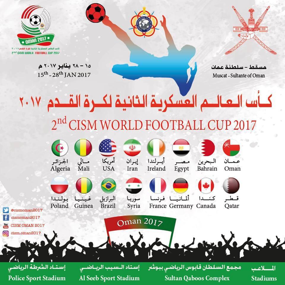 Drugie Wojskowych Mistrzostwach Świata w piłce nożnej