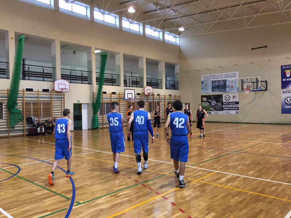Koszykarska Liga Kadetów A: ŚKS Warta Śrem - UKS MIKST Międzychód