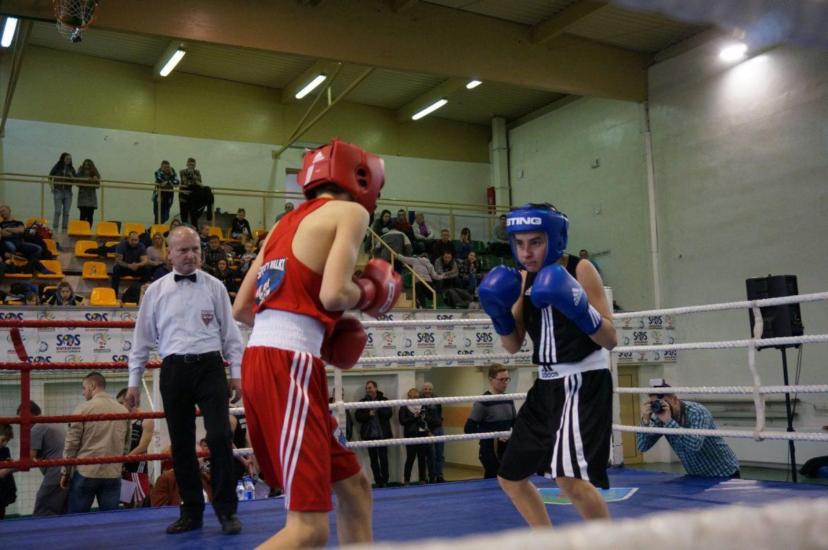 Kamil Sieradzki. II Turniej Kadetów Boks i Kickboxing im Tadeusza Pietrzykowskiego w Pile