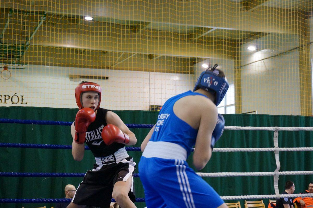 Maksymilian Szymański. II Turniej Kadetów Boks i Kickboxing im Tadeusza Pietrzykowskiego w Pile
