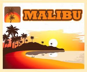 Malibu reklama
