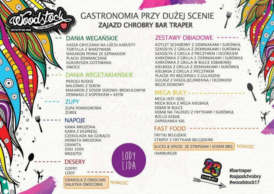Lody z Książa Wielkopolskiego na Przystanku Woodstock 2017