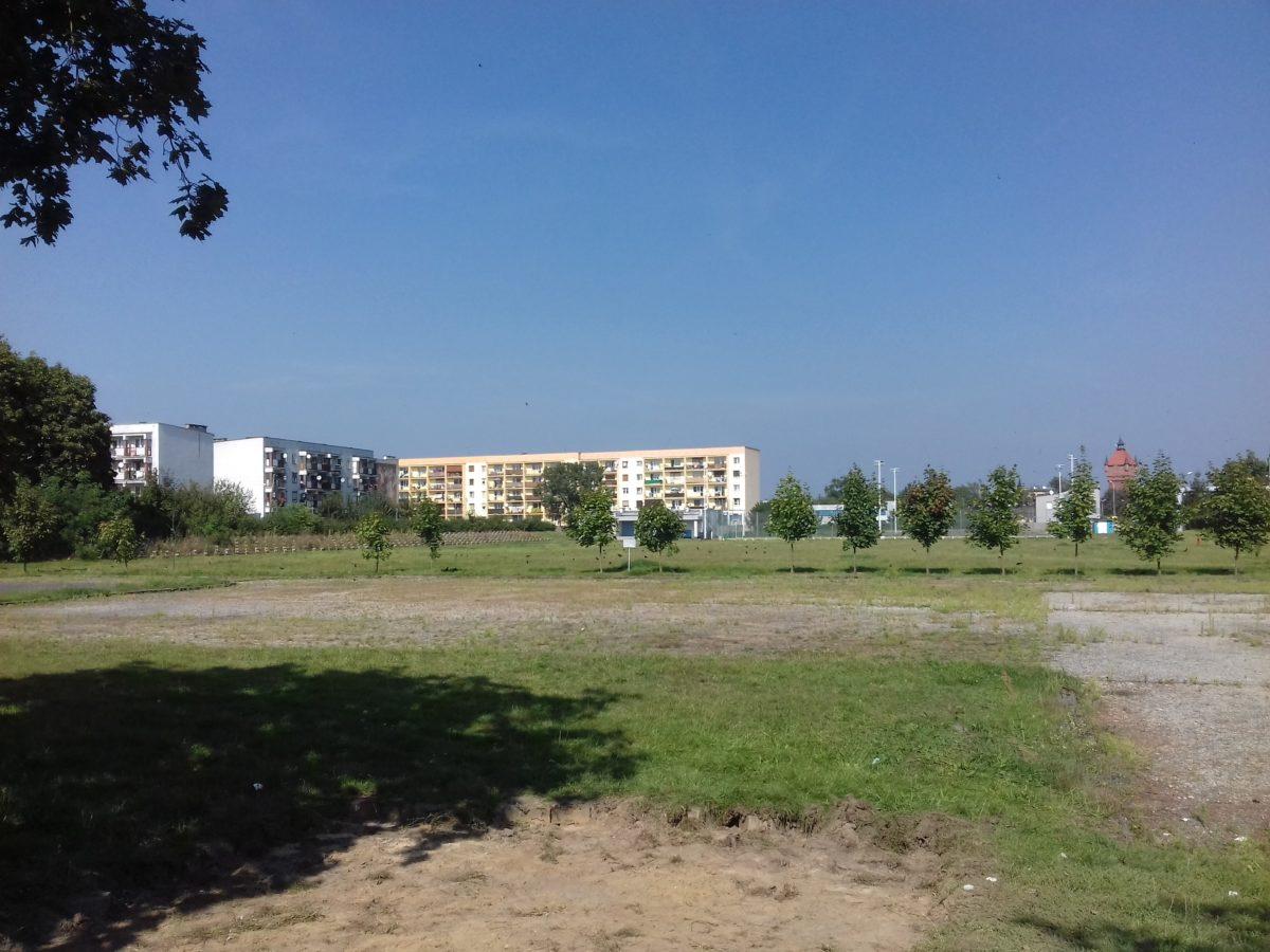 Tereny stadionu przy ulicy Zamenhofa w Śremie. Tutaj powstanie Park handlowy.